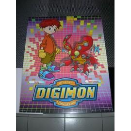 Poster G�ant (51x41cm) Digimon Digital Monsters (Neuf) : Izzy + Tentomon