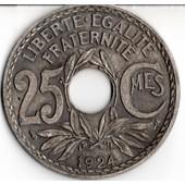 Sous-Bock Grand Format - Ancienne Pi�ce De 25 Cts De 1924
