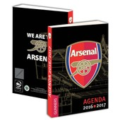 Agenda Scolaire Arsenal 2016 2017 - Collection Officielle