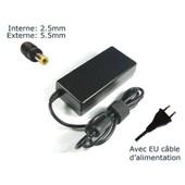 AC Adaptateur secteur pour TOSHIBA SATELLITE A300 A500 A660 chargeur ordinateur portable, adaptateur
