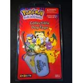 Pokemon Collectible Dog Tags - Pikachu