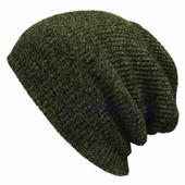 Chapeau Bonnet Femme Homme Mode Crochet Tricot Laine Baggy Beret