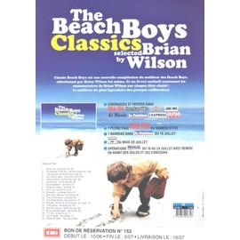 THE BEACH BOYS BRIAN WILSON 2 PLANS MEDIA BON DE PRÉCO RECTO