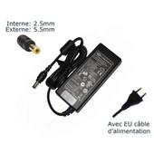 AC Adaptateur secteur pour TOSHIBA SATELLITE A500 PSAM3E-03F009GR chargeur ordinateur portable, adaptateur