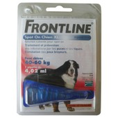 Pipette Antiparasitaire Chien 40-60kg Frontline� Spot On X1