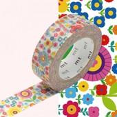 Rouleau 15mm X 10m Mini Flower Garden - Masking Tape