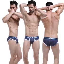 Slip Coton Impression De Coton Pour Hommes Sous-V�tements,Cale�ons Confortables Et Respirants Taille S/M/L/Xl