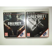Call Of Duty Black Ops 1 + 2 I & Ii Pour Console De Jeu Ps3 Playstation 3