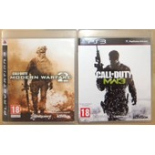 Call Of Duty Modern Warfare 2 + 3 Pour Console De Jeu Ps3 Playstation 3