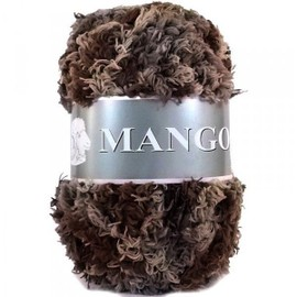 Laine Mango Peluche 115 Multi Marron Beige, occasion