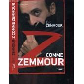 Z Comme Zemmour de eric zemmour