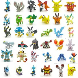 Pokemon Figurines Lot De 25