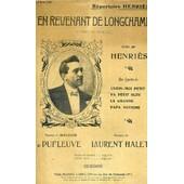 En Revenant De Longchamp - Chanson Marche de HENRIES / HALET