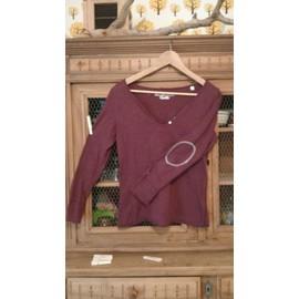 T-Shirt Best Mountain Coton M Bordeaux