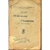 Bulletin De L'universite De Toulouse - N�1 - Sept-Nov 1945 / Lyc�e De Jeunes Filles De Toulouse (141-1944) / Echos Et Nouvelles - Examens Et Concours. de COLLECTIF