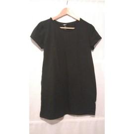 T-Shirt H&m Coton L Noir
