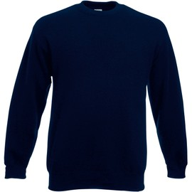 Sweat-Shirt Manches Droites Fruit Of The Loom - Bleu Royal