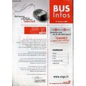 Bus Infos N�32 - Editorial / Dossier / En Bref : Location Du Minibus / Du Nouveau A La Stga : Stga Sur Internet / A Votre Ecoute. de COLLECTIF