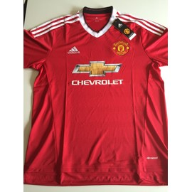 Maillot Domicile Manchester United Fc 2015/2016 - Taille L