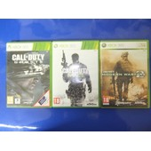 Call Of Duty - Ghosts + Modern Warfare 2 + 3 Pour Console De Jeu Xbox 360