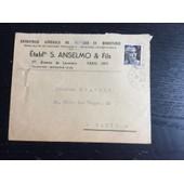 Enveloppe Affranchie (Marianne-3 Fr), De Paris Pour Paris, 1946