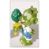 Kinder S�rie Astro Comic 1999 / Franklin D'oeil Support Jaune