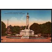 Carte Postale Ancienne, France, Ardennes ( 08 ), Sedan, Le Monument Aux Morts
