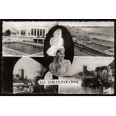 Carte Postale Ancienne, France, Vend�e ( 85 ), Les Sables D'olonne, Vues Multiples