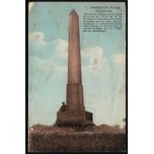 Carte Postale Ancienne, France, Yonne ( 89 ), Fontenoy, La Colonne