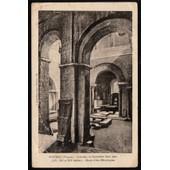 Carte Postale Ancienne, France, Vienne ( 86 ), Poitiers, Int�rieur Du Baptist�re Saint Jean, Mus�e D'art M�rovingien