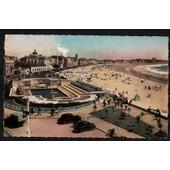 Carte Postale Ancienne, France, Vend�e ( 85 ), Les Sables D'olonne, Vue Sur Le Remblai Et La Piscine