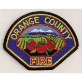 Ecusson Orange County Fire