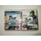 Tom Clancy's Ghost Recon Future Soldier + Advanced Warfighter 2 Pour Console De Jeu Ps3 Playstation 3