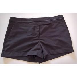 Short Cama�eu Viscose 38 Noir