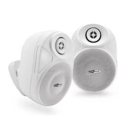 Ensemble enceintes exterieures amplifiee 2 voies - Bluetooth - sans fil