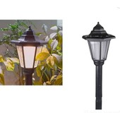 Led Lampe Solaire Lumi�re Ext�rieur �nergie Chemin Fixation Murale Support Cl�ture Jardin