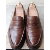 Mocassins Jm Weston 41 1/2 Marron