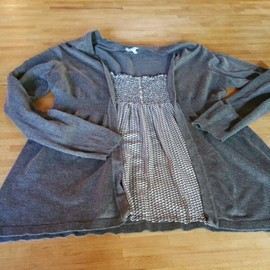 Pull Maille Fine Maternit� Taille L
