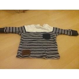 T-Shirt H&m Coton 3 Mois Blanc
