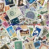Turquie 1500 Timbres Differents Obliteres