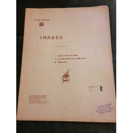 Debussy Images série 2 piano score partition
