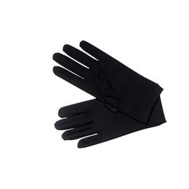 Gant Noir Lumineux, Taille Unique Femme.