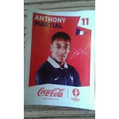 Sticker Panini Euro 2016 (Coca Cola) - Anthony Martial (11)