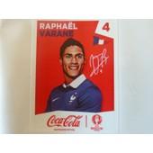 Sticker Panini Euro 2016 (Coca Cola) - Rapha�l Varane (4)