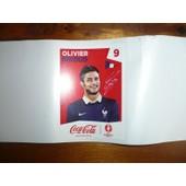 Sticker Panini Euro 2016 (Coca Cola) - Olivier Giroud (9)