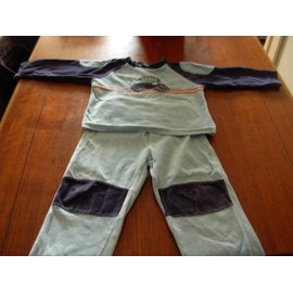 Pyjama Maille Polaire Taille 4 Ans