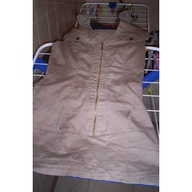 Robe Auchan Coton 36 Beige