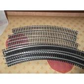 Lot De 3 Rails Courbe R=360 45�