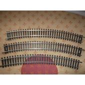Lot De 9 Rails Courbe Ref N/3011 R=430 30�