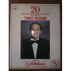 20 succès pour piano Tino Rossi